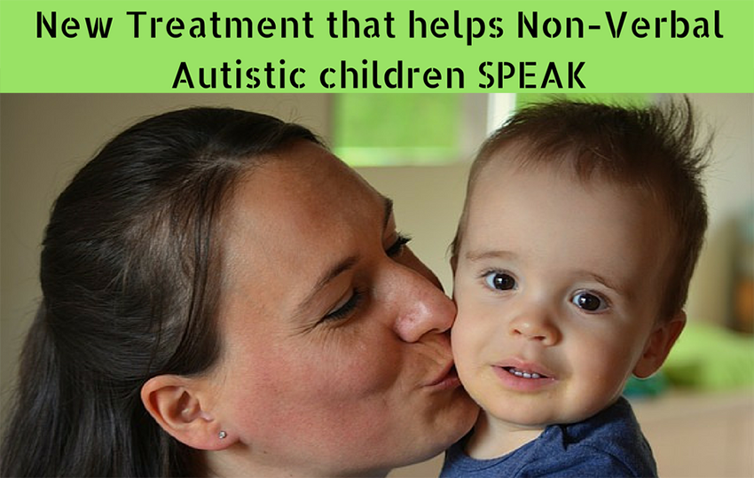 New Treatment that helps Non-Verbal Autistic children SPEAK