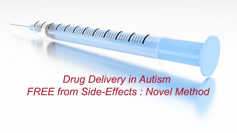 Drug Delivery in Autism FREE from Side-Effects : Novel Method