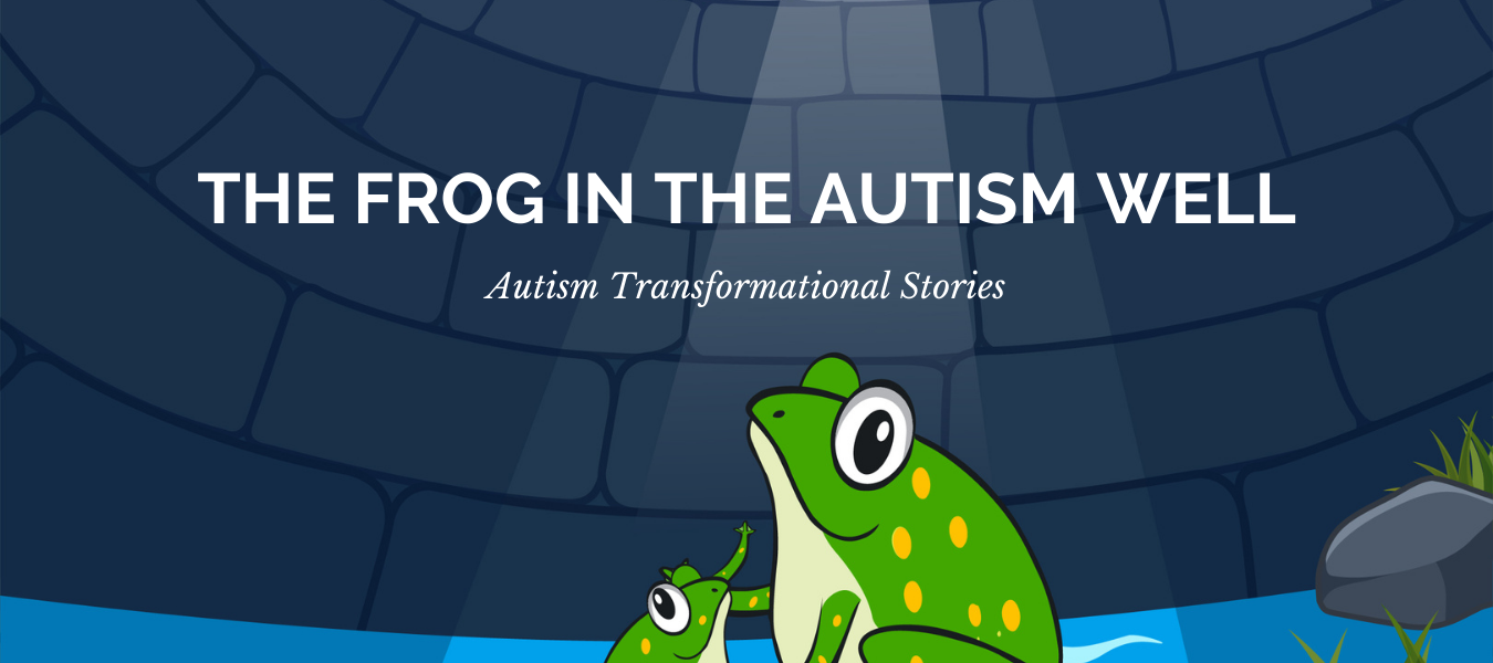 Frog in Autism well